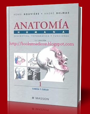 Anatomia Humana Henri Rouviere, André Delmas | booksmedicos