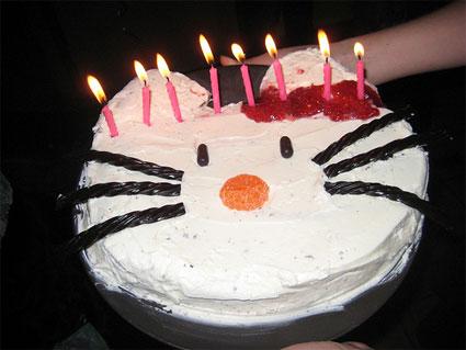 Hello+kitty+birthday+cakes+for+girls