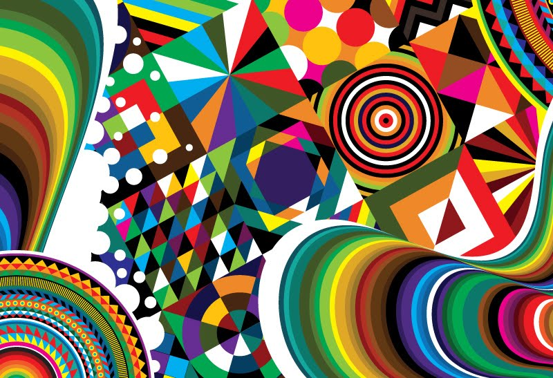 Line Design Op Art : Best psychedelic funky designs and op art images