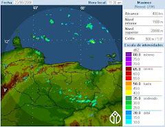 Estado del Tiempo en Vzla. Radar Doopler de Venezuela