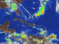 Estado del tiempo en El Caribe Loop animado