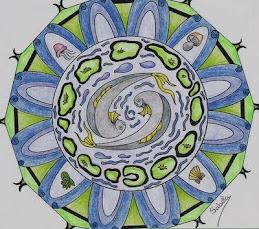 Mandalas: dibujo de Sabela