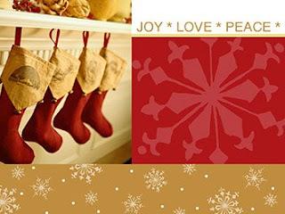 Merry Christmas Stocking Wallpaper