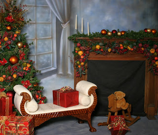 Christmas Home Photography Wallpaper