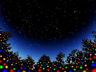 Christmas Sky Wallpaper
