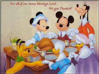 Disney Cartoon Thanksgiving Wallpaper