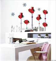 christmas decoration mural wallpaper