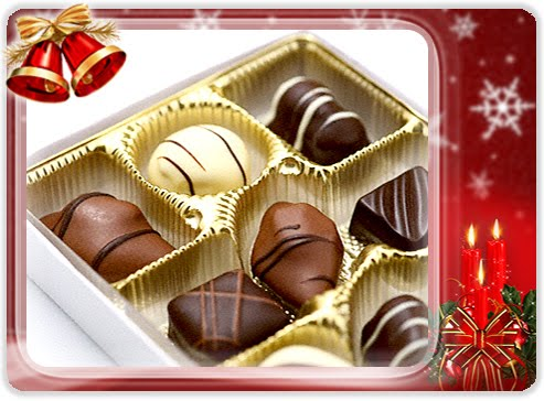 Present these Christmas Chocolate Wallpaper to your beloved ones to exchange