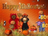 Cute Happy Halloween Wallpaper