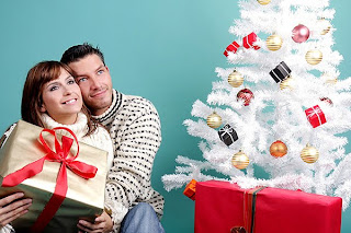 Christmas Couple Photo Wallpapers