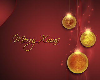christmas red background wallpaper