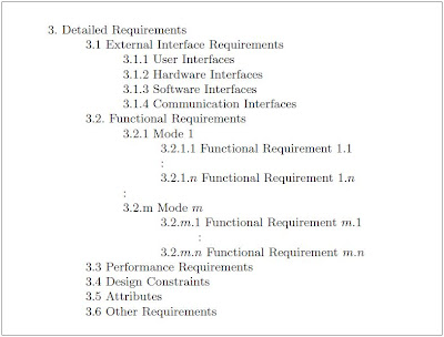 Software Engineering  Structure Of A Requirements Document