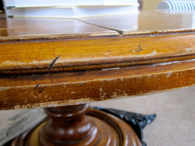 how to touch-up worn out furniture