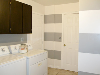 san antonio gray wall stripes