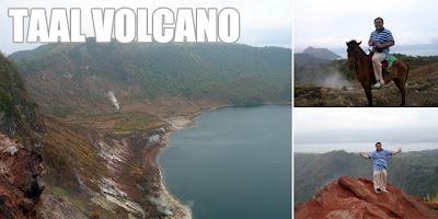 Manila day trip - Taal Volcano