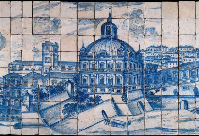Para mais tarde recordar museu nacional azulejo for Casa dos azulejos lisboa