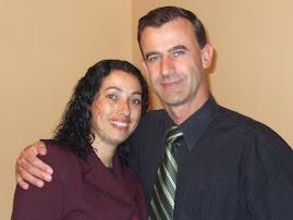Pr. Helio José da Silva e sua esposa Nilda.