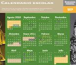 Calendario Escolar de la SEP