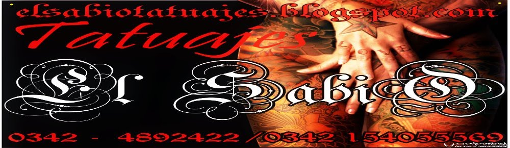 "TATTOO SANTAFE:  ""El sabio tatuajes"""