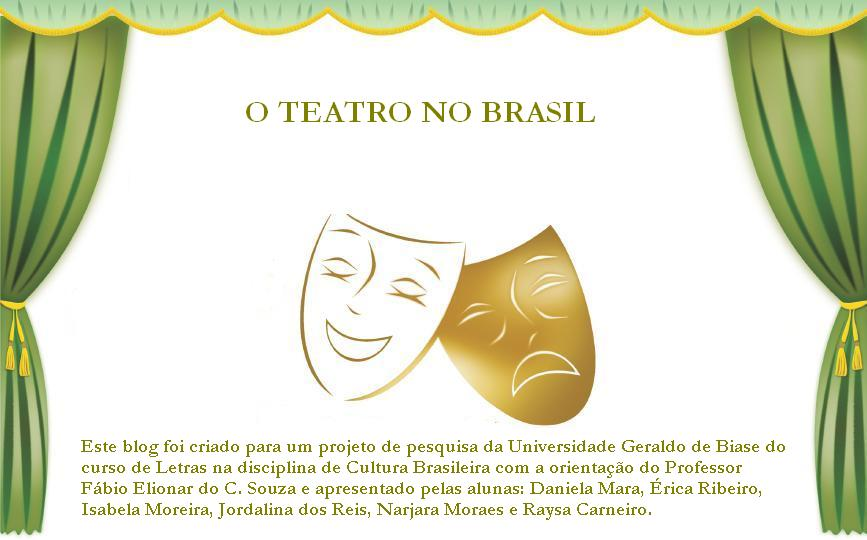 O TEATRO NO BRASIL