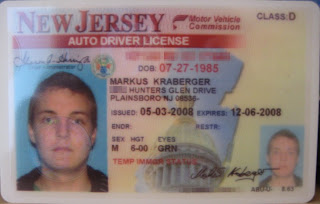 applying for drivers license in nj