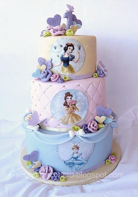 Cake Design Principesse Disney : sogni di zucchero: Un compleanno principesco!