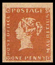 Μαυρίκιος Τα δύο πιό σπάνια γραμματόσημα