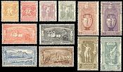 Η πρώτη ολυμπιακή σειρά γραμματοσήμων