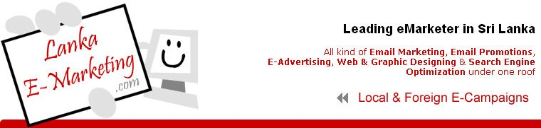 Lanka E-Marketing : Email Marketing & Search Engine Optimization company in Sri Lanka