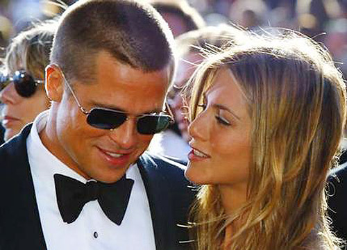 Brad Pitt And Jennifer Aniston. Brad Pitt and Angelina
