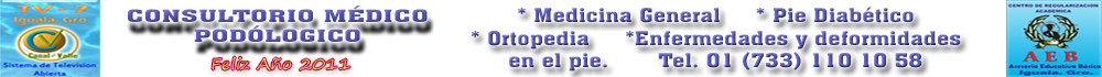 CONSULTORIO MÉDICO PODOLÓGICO