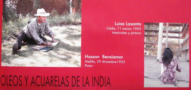 Luisa lasanta cil 2009 exposici n namast sala colegio oficial de arquitectos c diz - Colegio de arquitectos cadiz ...