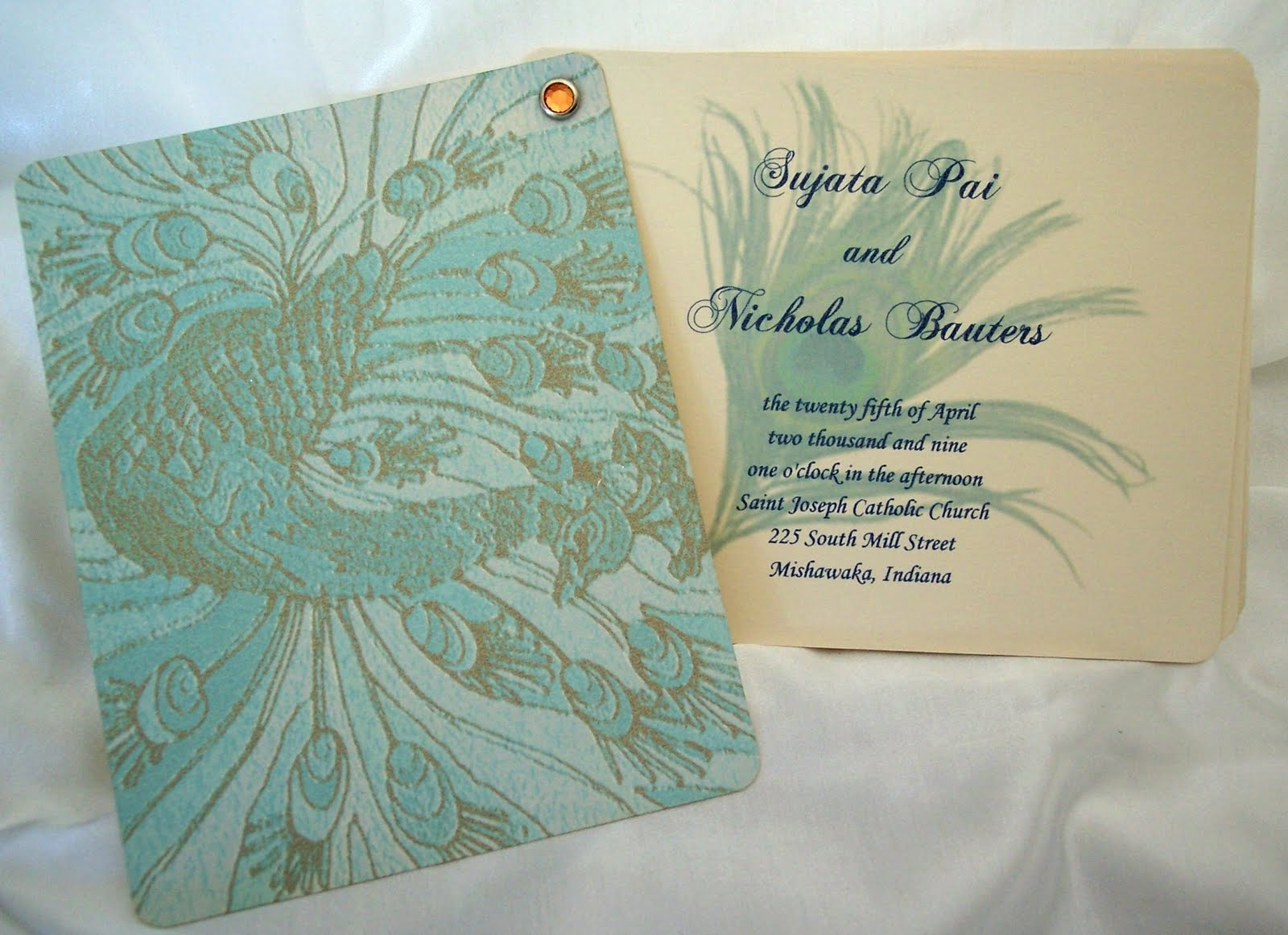 ... wedding program, table numbers, menu card, food cards, thank you cards