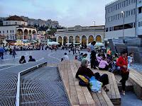 νέα Πλατεία Μοναστηράκι η πιο άσχημη κατασκευή ever!