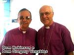 Dom Robinson Cavalcanti e Dom Gregory Venable