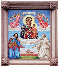 Mosaic of the Black Madonna of Częstochowa Queen and Protectress of Poland