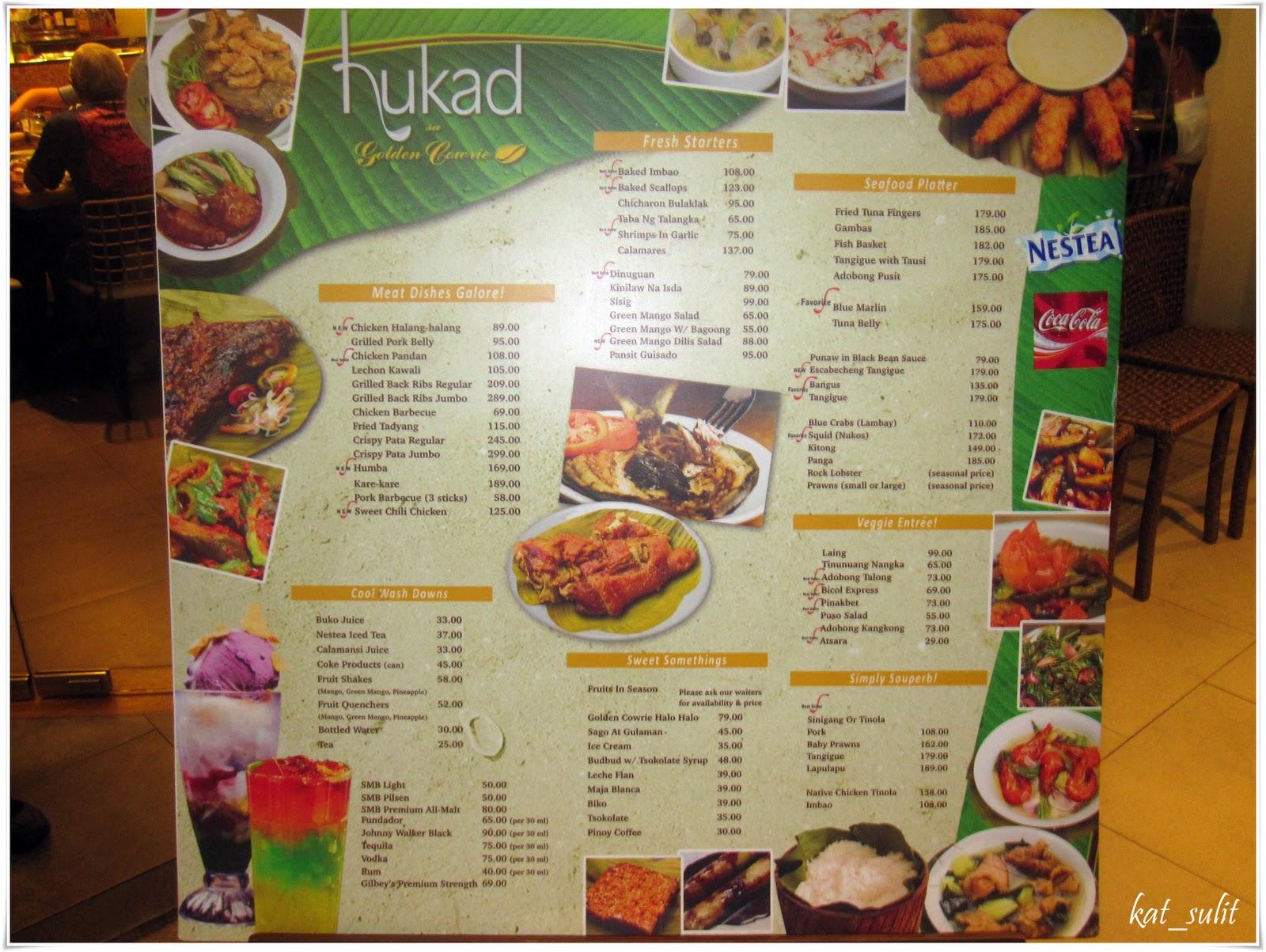 research on hukad sa golden cowrie filipino restaurant Hukad sa golden cowrie, cebu island: see 154 unbiased reviews of hukad sa   crab cakes filipino food busy restaurant local dishes native filipino ayala mall.