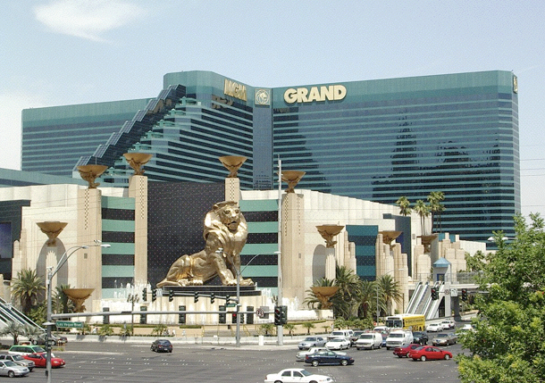 mgm grand parking