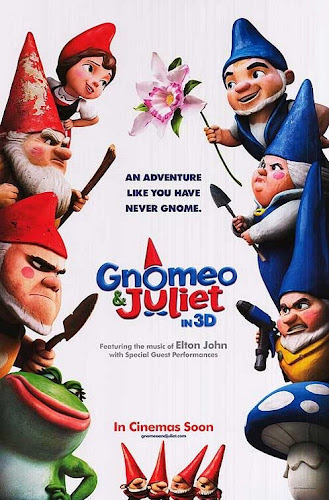 Gnomeo%2Band%2BJuliet%2BA%2Bflower%2Bbridges%2Bthe%2Bgap Gnomeo y Julieta (2011) Español Latino