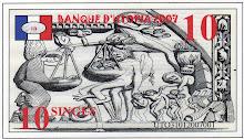 MONNAIE D'UTOPIA: LE SINGE.