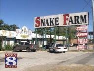 snake farm fire
