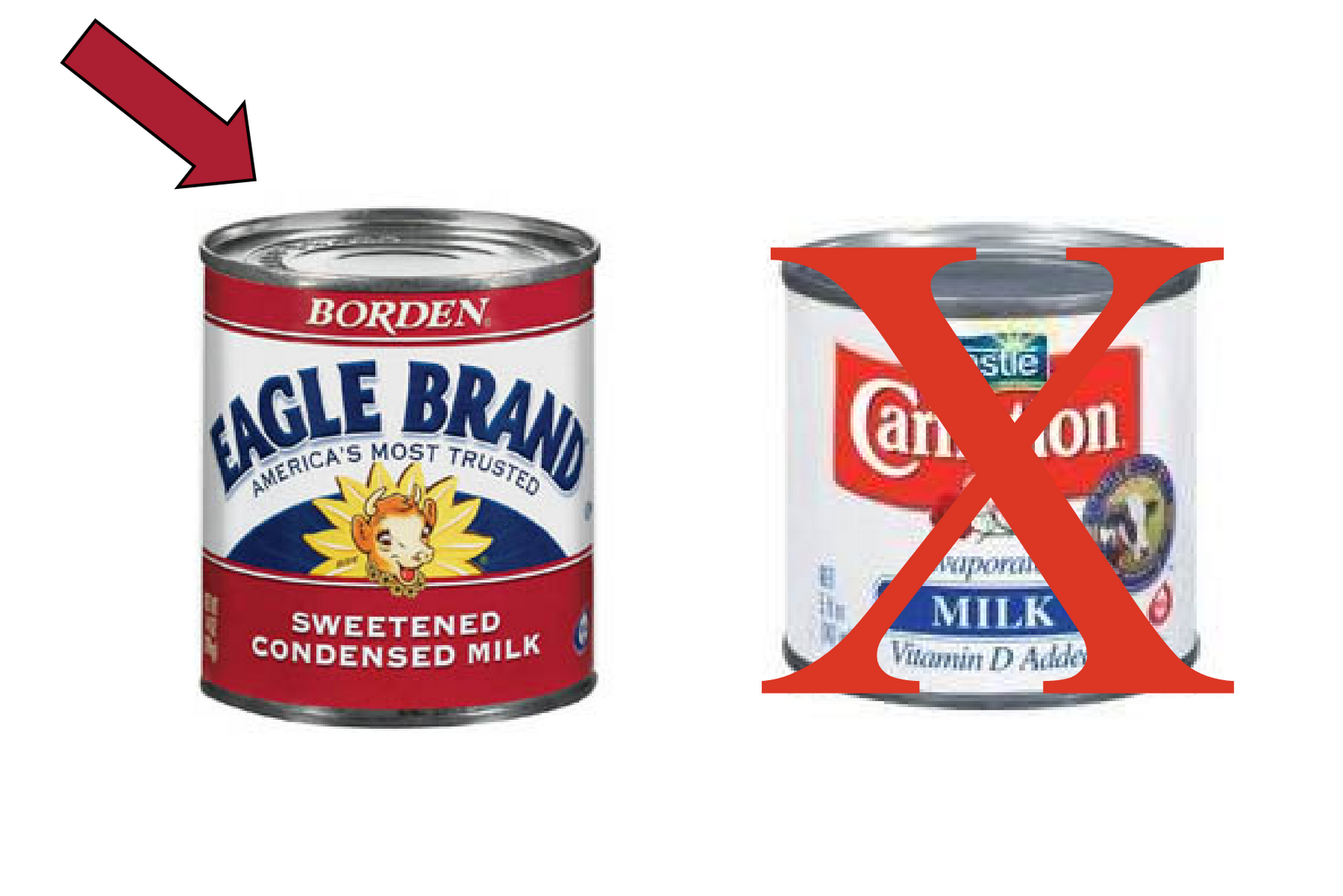 how to cook eagle brand milk in the can