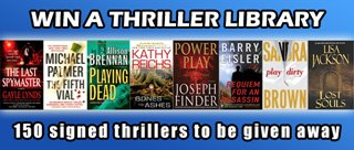 Win a Signed Thriller Library