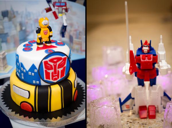 Color Party festa do transformers