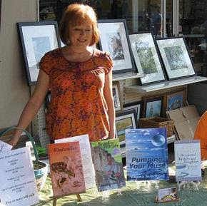 Donna Sundblad, author of the young adult fantasies Beyond the Fifth Gate ...
