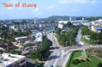 Aerial View Of Kluang Town