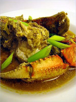 crab plum sauce