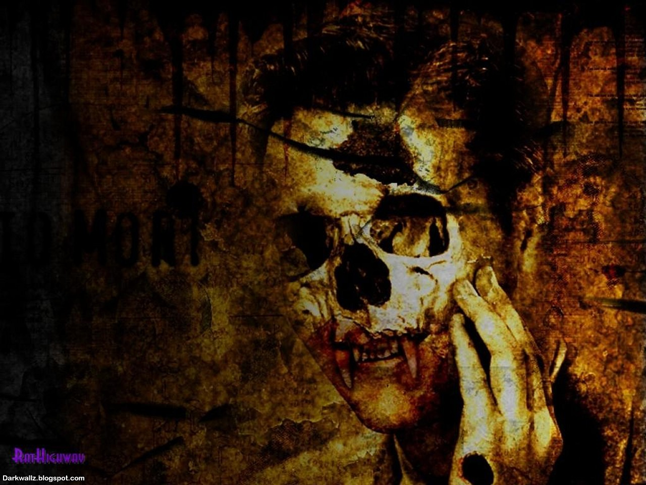 Skulls Wallpapers 06 | Dark Wallpaper Download