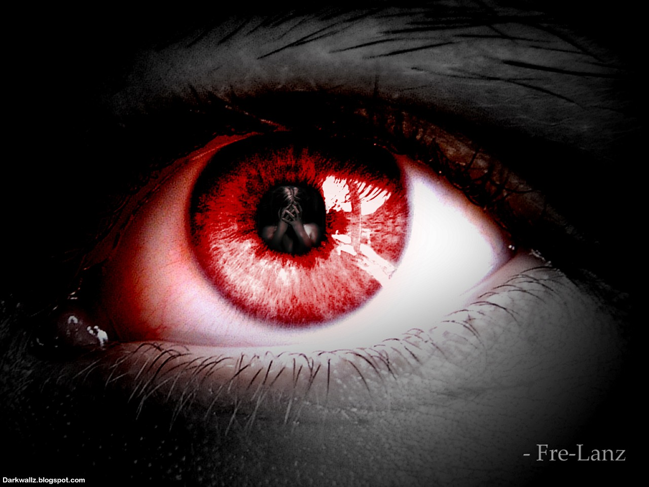 scary eyes ... download scary eyes wallpaper