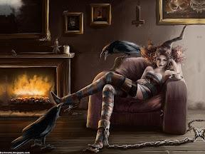 Dark Girls Desktop Wallpapers